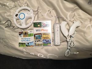 Wii games, remotes, accessories
