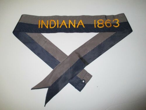 rst164 US Army Civil War Flag Streamer Indiana 1863 South IR41