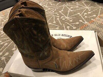 """Old Gringo Reno 10"""" Ladies Cowboy Boots Rust/Ocre Sz 11 In Box $400 (Women In Reno)"""