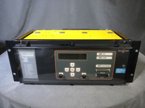 GEC ALSTHOM OPTIMHO LFZP 111S50016D STATIC DISTANCE PROTECTION RELAY