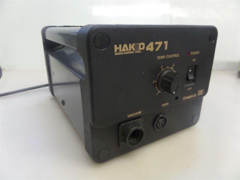 Hakko 471-2 Temperature Control Desoldering Station