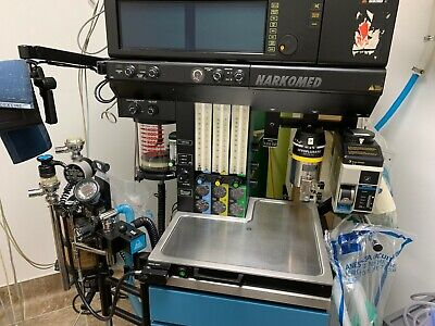 Drager Narcomed 4 Anesthesia Machine