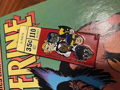 "Marvel Comics Corner Box X-Men 3"" Enamel Magnet Pin! Series 3!"