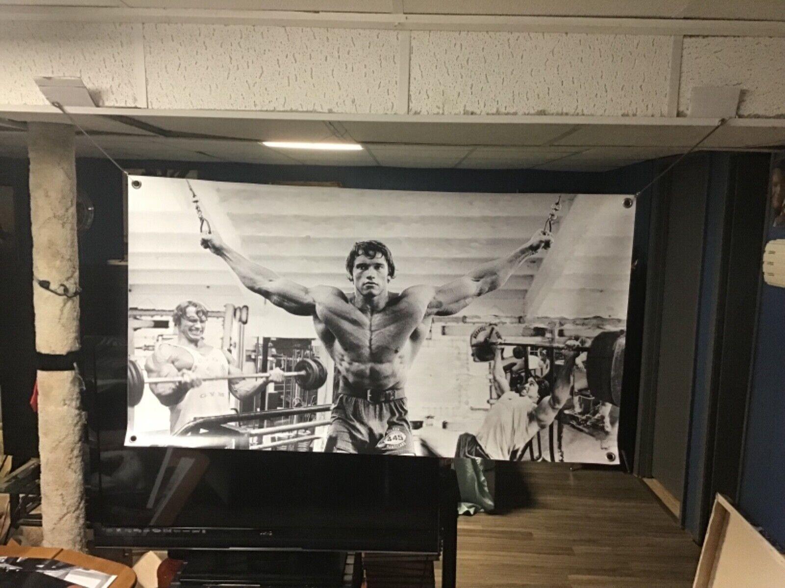 NEW HUGE 47x26 Arnold Schwarzenegger VINYL BANNER POSTER Mov