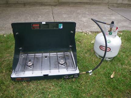 COLEMAN 5430B700A 2 BURNER PORTABLE COOKING GAS CAMPING STOVE