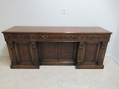 Fremarc Design Oak Carved Server Sideboard Buffet Console Brotish Indies