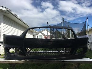 Used front bumper off of 2012  Dodge Charger super b