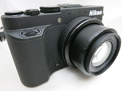 Nikon Coolpix P7700 Point & Shoot digital camera with accessories *as is  Nikon Coolpix Point