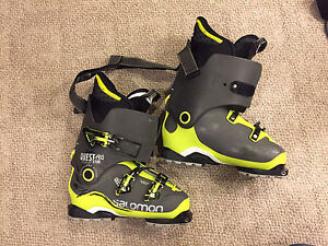 Salomon Quest Pro x100 boot, 28.5 w/ tech soles