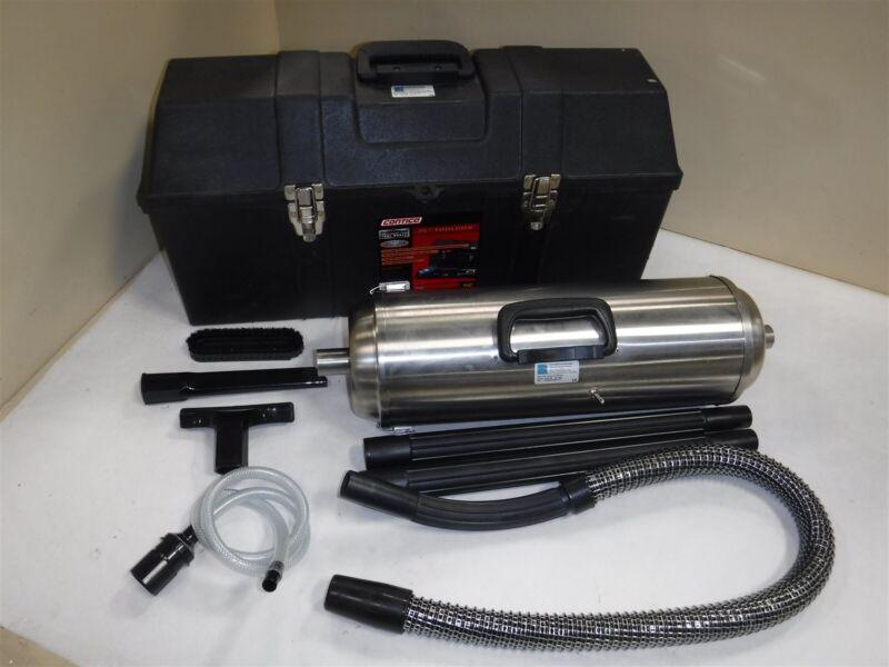 Used Terra Universal MicroVac Portable Cleaner 5100-00 w/ Acce & case L11