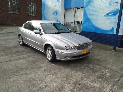 Jaguar X Type 2003 silver