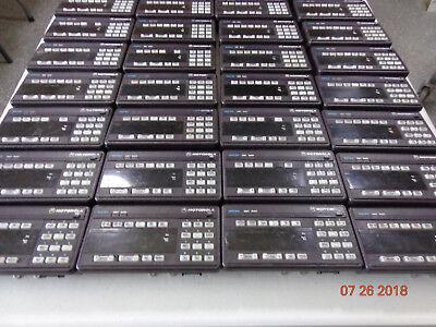 Motorola Spectra Astro Xtl5000 Radio Sys 9000 Hcn1078f W9 Control Head Lot 5