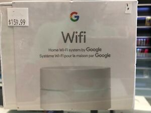 Google home wifi system.