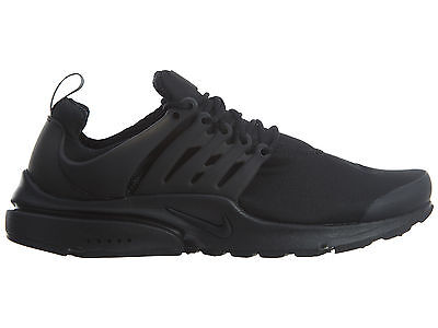 Nike Air Presto Essential Mens 848187-011 Black Mesh Running Shoes Size 10