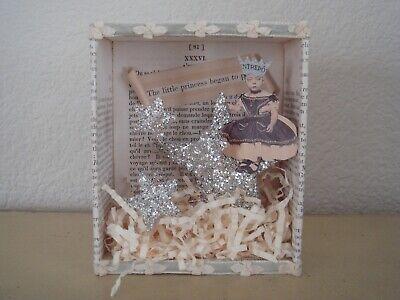 ONE OF A KIND SHADOW BOX PAPER ART LAUREN A. MUMFORD PRINCESS