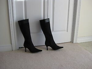 SIZE 8 DRESSY BOOTS/MINT CONDITION NEVER WORN London Ontario image 1