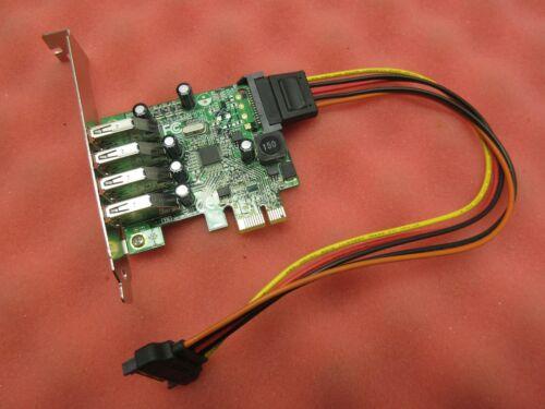 StarTech | PEXUSB3S4V | PCI Express PCIe SuperSpeed USB 3.0 Controller Card