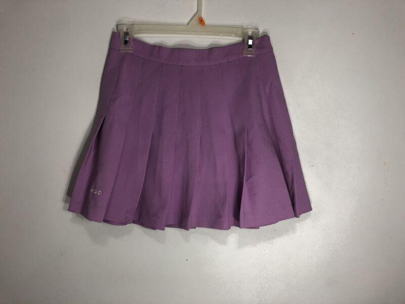 VTG Womens Head Sportswear Lavender Purple Pleated Skater Tennis Mini Skirt 10