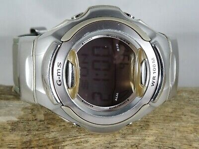 Casio Baby-G Watch MSG-151L on Silver Leather Strap comprar usado  Enviando para Brazil