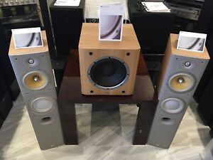 BOWERS & WILKINS HIGH END QUALITY SPEAKERS