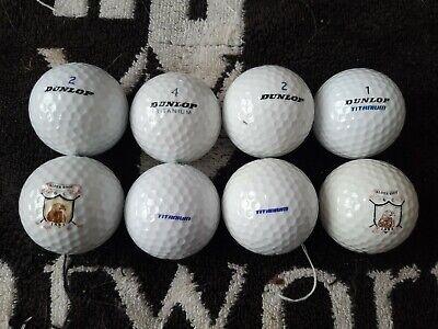 Dunlop Titanium Golf Balls