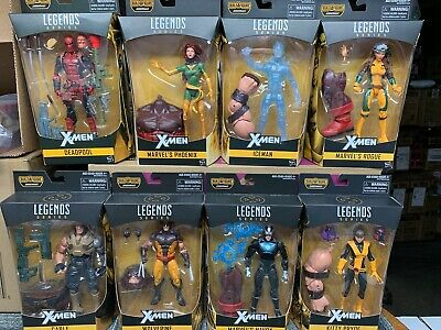 Marvel Legends JUGGERNAUT wave set X-MEN ROGUE DEADPOOLWOLVERINE KITTY PRYDE