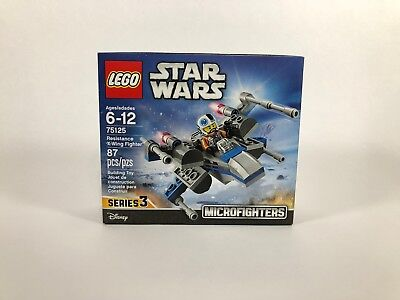 LEGO Star Wars 75125 Resistance X-Wing Fighter - NEW - SEALED - RETIRED