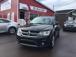 2013 Dodge Journey R/T, AWD, DVD, Leather, Low KM,Heated seat,Ca