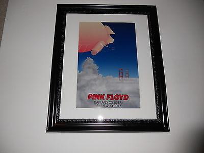 Large Framed Pink Floyd Animals Tour 1977 Oakland CA Poster, 24