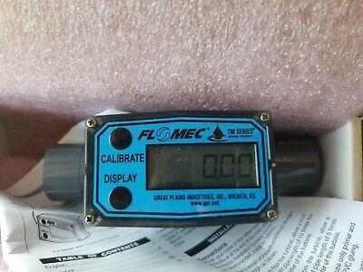 Flowmeter Totalizer 34 Great Plains Industries Tm075-n 2-20 Gpm