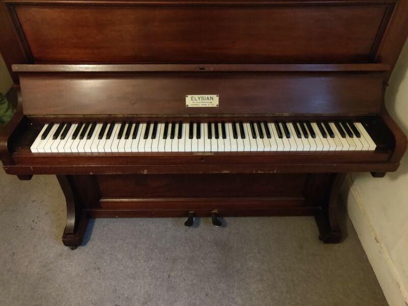 Chappell Elysian Piano Upright 1925