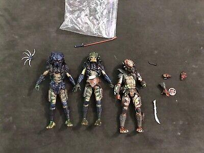 NECA Predator 2-Pack City Hunter Predator Damaged, Lost And Armor -