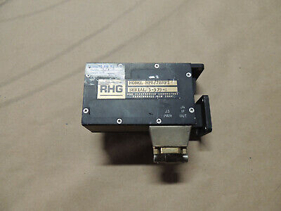 Rhg Electronics Mp82brfi Waveguide To Caxial Adapter