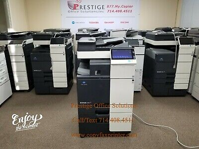 Konica Minolta Bizhub C368 Copier Printer Scanner. Meter Only 76k