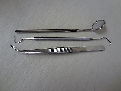 Dental Tartar Calculus Plaque Remover Tooth Scraper Dental Mirror Scaler Set