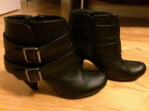 Black Ankle Boots Size 9