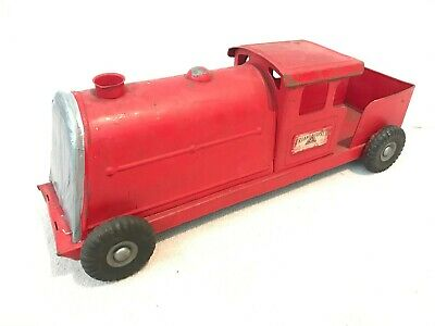 🚂 Vintage 1950s Classic TRI-ANG EXPRESS TRAIN Large Metal Child's Toy Loco Gift