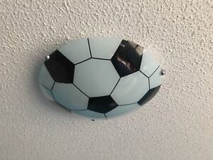 Soccer Ball Ceiling Light Fixture