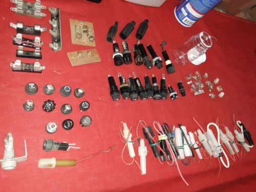 # 592w Fuse Holders, inline, panel, surface Mounts. Variety, Used Good Condition