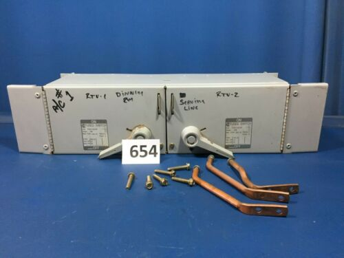 Challenger Fcsct3233r 100a 240v Twin Panelboard Switch W/hardware