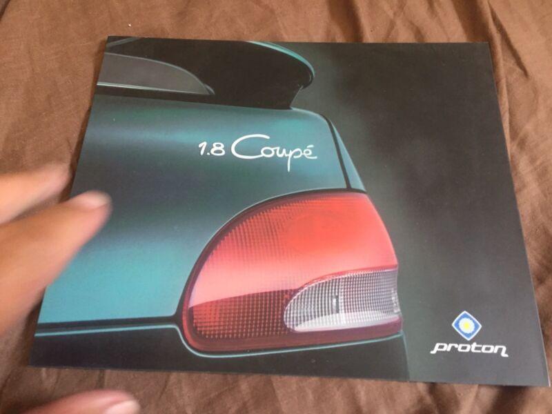 1998 Proton like Mitsubishi Mirage Brochure Catalog Prospekt