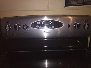 Stainless steel ceramic top stove