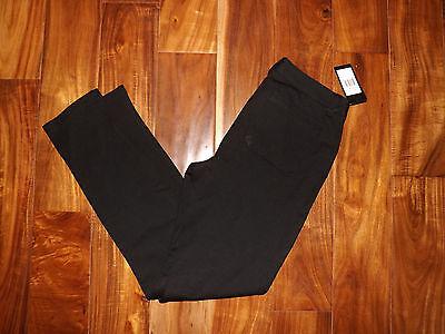 NWT Womens ANDREW MARC Extra Stretch Black Skinny Dress Pants Slacks Size 8