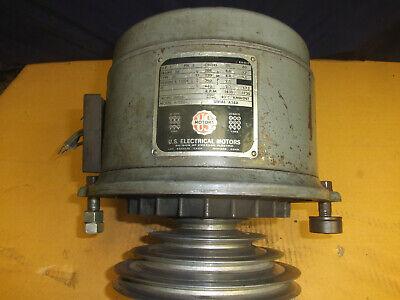 Bridgeport 1hp 3ph Step Pulley Motor For J-head Series Milling Machine