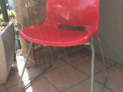 Red & Light Grey Chair - Ex Cond New Farm Brisbane North East Preview