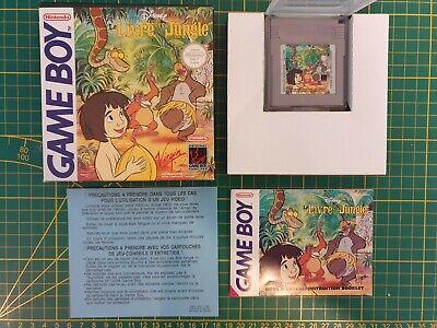 NEUF LE LIVRE DE LA JUNGLE DISNEY Nintendo Gameboy Game boy Boxed BOITE FRA