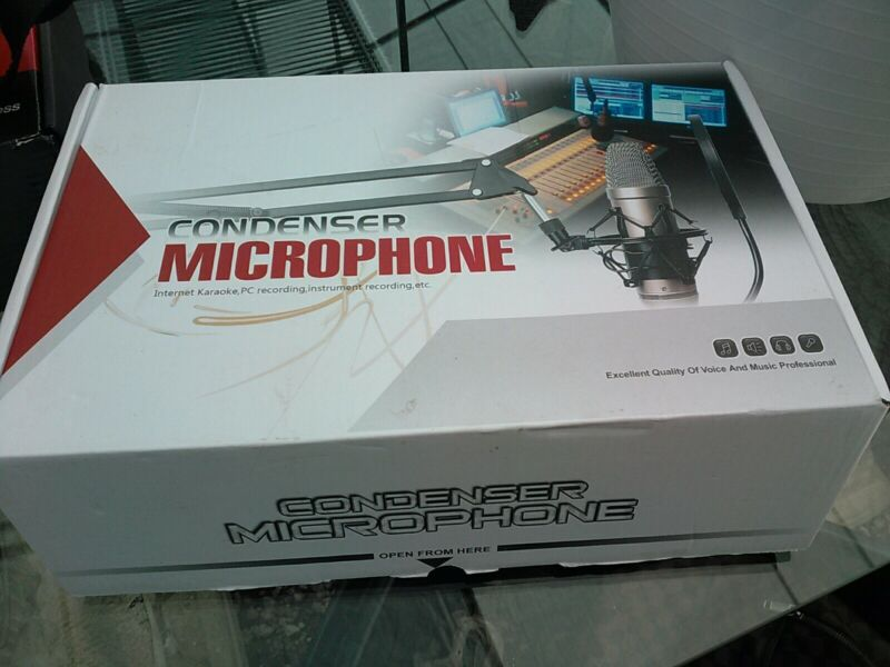 Broad Casting And Recording Microphone