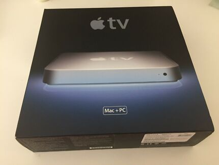 Apple TV generation 1. Boxed. Collectable