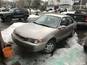 2000 Toyota Corolla parts