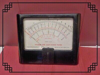Vintage Precision Apparatus Co Vacuum Tube Mulit-range Tester